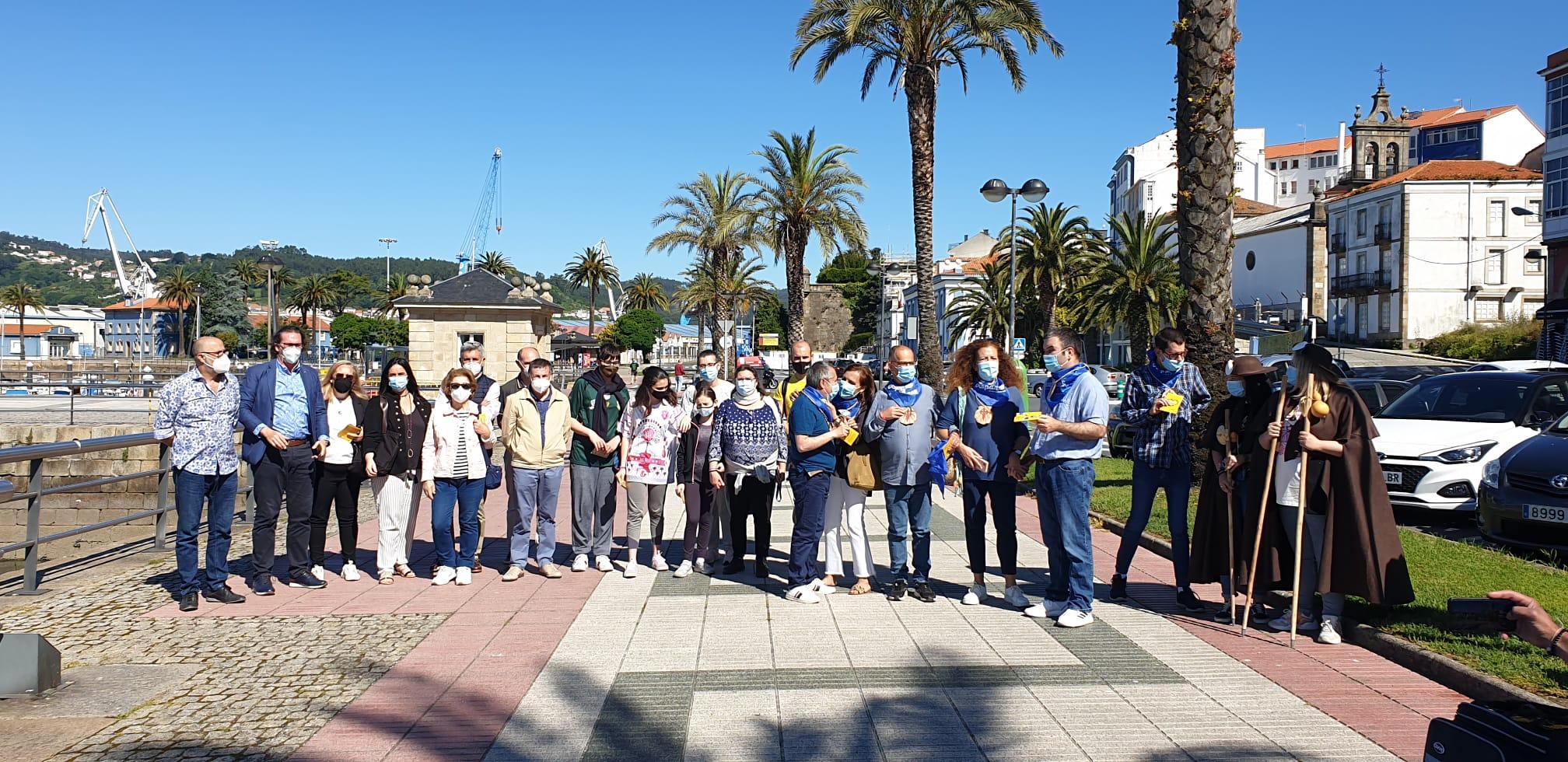 O Concello aposta por promover o Camiño Inglés Inclusivo como recurso turístico e patrimonial